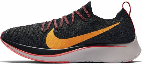 Nike Zoom Fly Flyknit - Multicoloured Black Orange Peel Flash Crimson 068