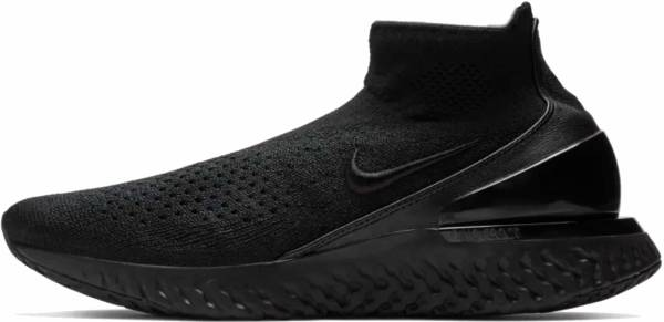 Nike Rise React Flyknit - Black