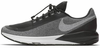 Nike Air Zoom Structure 22 Shield - Black/White-Cool Grey-Vast Grey