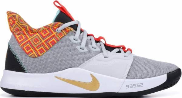 Nike PG3 Pure Platinum, Metallic Gold