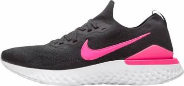 Nike Epic React Flyknit 2 - Black/Black-pink Blast-white (BQ8928013)