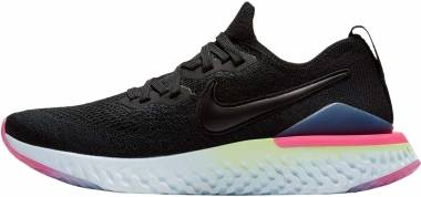 new style 3fff3 60544 Nike Epic React Flyknit 2 Black Men
