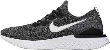 Nike Epic React Flyknit 2 - Nero Black White 010 (BQ8928010)