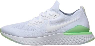 Nike Epic React Flyknit 2 - White Lime Blast White