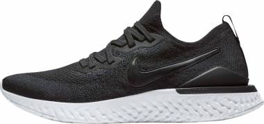 Nike Epic React Flyknit 2 - Black/Black-white (653528300)