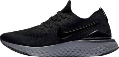 Nike Epic React Flyknit 2 - Black Black White Anthracite 001 (BQ8928001)