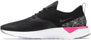 Nike Odyssey React Flyknit 2 - Black Black Reflect Silver (AT9975002)