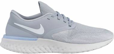 Nike Odyssey React Flyknit 2 Wolf Grey/White-platinum Tint-gunsmoke Men