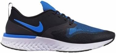 Nike Odyssey React Flyknit 2 - Black Racer Blue White (AH1015011)