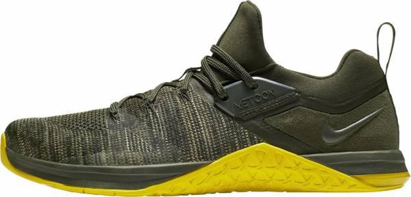 Nike Metcon Flyknit 3 - Sequoia/Bright Citron (AQ8022300)