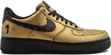Nike Air Force 1 07 Metallic - Metallic Gold/Black