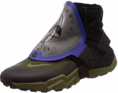 Details about Men's Nike Air Huarache Gripp BlackIndigo BurstOlive Canvas