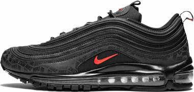 Nike Air Max 97 - Multicolore Black University Red Black 001