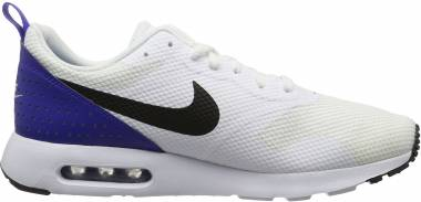 Nike Air Max Tavas White (White/Black-paramount Blue) Men