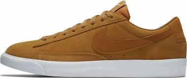Nike Blazer Low Suede - Desert Ochre/Desert Ochre-sail