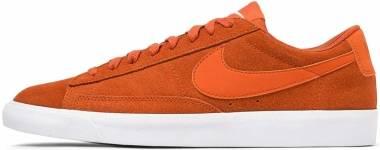 Nike Blazer Low Suede - Orange