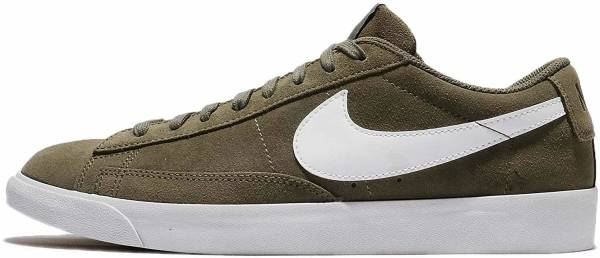Nike Blazer Low Suede - Medium Olive/Medium Olive (371760209)