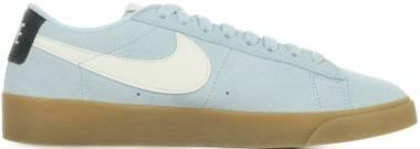 Nike Blazer Low Suede - Bleu Clair (AV9373400)