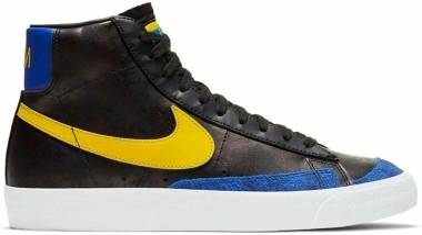 Nike Blazer Mid - Black/Speed Yellow/Game Royal/ (DC1414001)