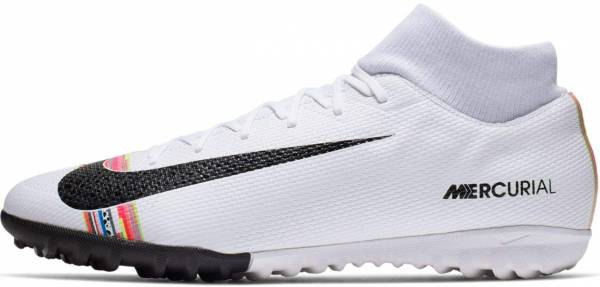 Nike CR7 SuperflyX 6 Academy Turf - White/Black/Pure Platinum