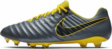 Nike Legend 7 Elite Firm Ground - Dark Grey/Opti Yellow Black (AH7238070)