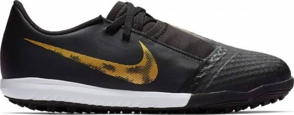 Nike PhantomVNM Academy Turf - Black Mtlc Vivid Gold (AO0377077)