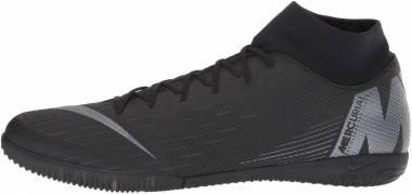 Nike SuperflyX 6 Academy Indoor - Black/Black/Light Crimson/Black