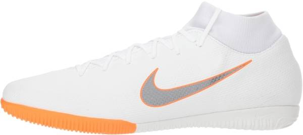 Nike SuperflyX 6 Academy Indoor - White White Chrome Total O 107