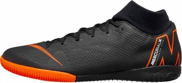 Nike SuperflyX 6 Academy Indoor - Black Black Total Orange W 081 (AH7369081)
