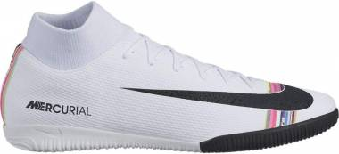Nike SuperflyX 6 Academy Indoor - White/Black/Pure Platinum (AJ3567109)