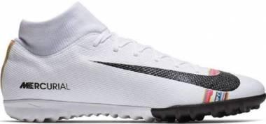 Nike SuperflyX 6 Academy Turf - White (AJ3568109)