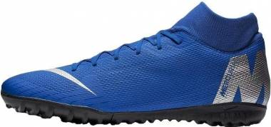 Nike SuperflyX 6 Academy Turf - Blue (AH7370400)