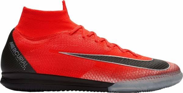 Nike SuperflyX 6 Elite Indoor - Flash Crimson Chrome Dark Grey Black (AJ3571600)