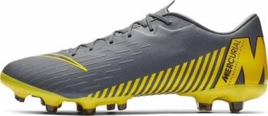 Nike Vapor 12 Academy Multi-Ground - Dark Grey/Black-dark Grey (AH7375070)