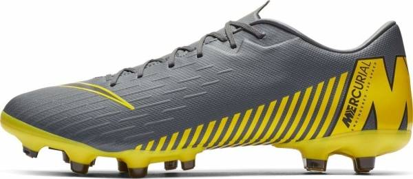 Nike Vapor 12 Academy Multi-Ground - Grey Dark Grey Black Dark Grey 070 (AH7375070)
