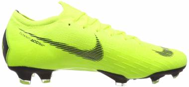 Nike Vapor 12 Elite Firm Ground - Green Volt Black 701 (AH7380701)