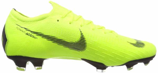 Nike Vapor 12 Elite Firm Ground - Green Volt Black 701 (AH7380701)