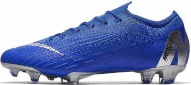 Nike Vapor 12 Elite Firm Ground - Blue (AH7380400)