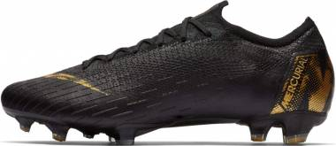 Nike Vapor 12 Elite Firm Ground - Black Gold (AH7380077)