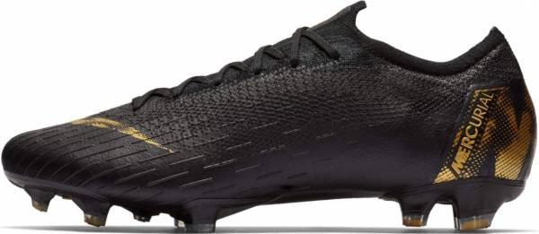 Nike Vapor 12 Elite Firm Ground - Black Gold (AH7380077)