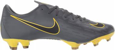 Nike Vapor 12 Pro Firm Ground - Dark Grey/Black/Yellow (AH7382070)