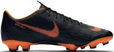 Nike Vapor 12 Pro Firm Ground - Black/White/Orange (AH7382081)