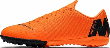Nike VaporX 12 Academy Turf - Orange Orange Total Orange Total Vert Volt Blanc 810 (AH7384810)