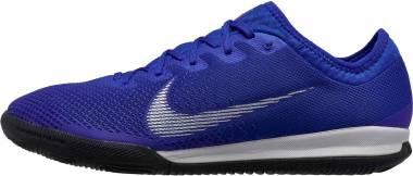 Nike VaporX 12 Pro Indoor - Racer Blue Metallic Silver Bla (AH7387400)