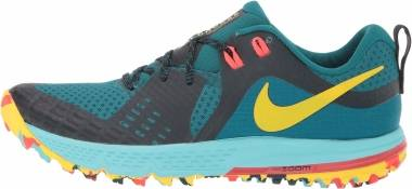 Nike Air Zoom Wildhorse 5 - Geode Teal/Chrome Yellow-black