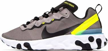 Nike React Element 55 - Pumice/Black-white-volt-blue G