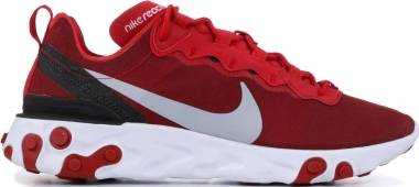 Nike React Element 55 - Gym Red/Wolf Grey-White-Black (BQ6166601)