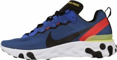 Nike React Element 55 - Multicolore Game Royal Black White Dynamic Yellow 403 (BQ6166403)