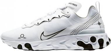 Nike React Element 55 - White Black (CU3009100)