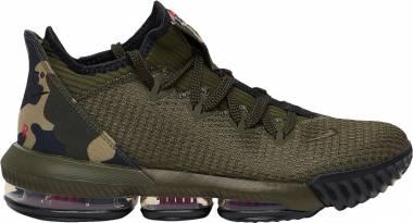 Nike LeBron 16 Low - Cargo Khaki / Black